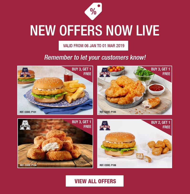 NEW Offers Now Live