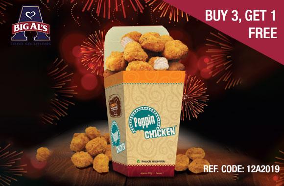 Buy 3 Get 1 Free Big Als Poppin Chicken Food Alliance